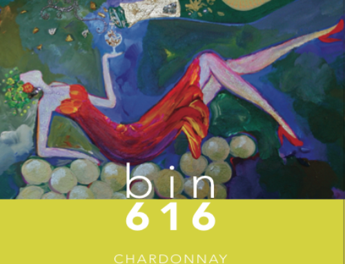 Painting of the Week: The Goddess of Chardonnay (bin616 Chardonnay)