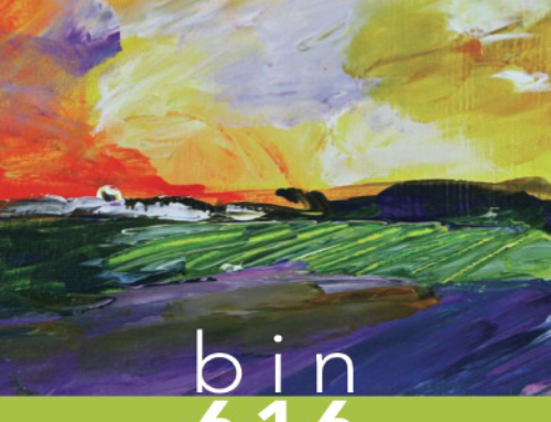 Painting of the Week: Sauvignon Blanc Fields (bin616 Sauvignon Blanc)
