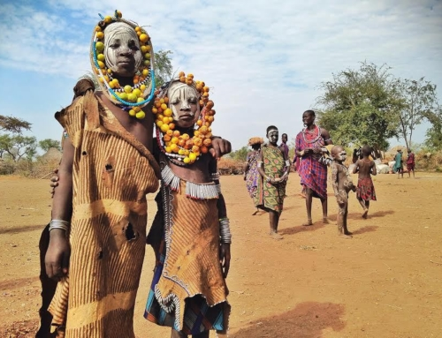 The Mursi people of South Omo, Ethiopia, and where an idea comes from