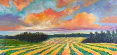 Chateau de Leelanau - Painting by Stephanie Schlatter