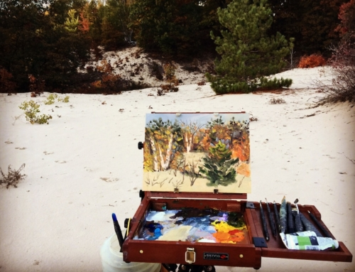 Plein Air Painting: A Different (But Worthwhile) Beast