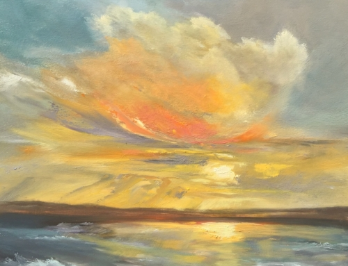 Bright Sky Over Lake Michigan (SOLD)