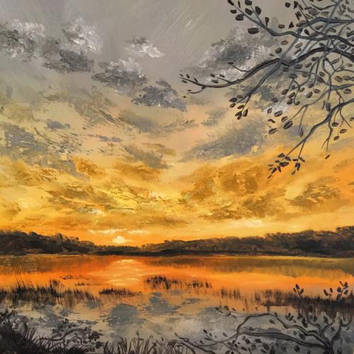 Lake Views in Leelanau - Painting by Stephanie Schlatter