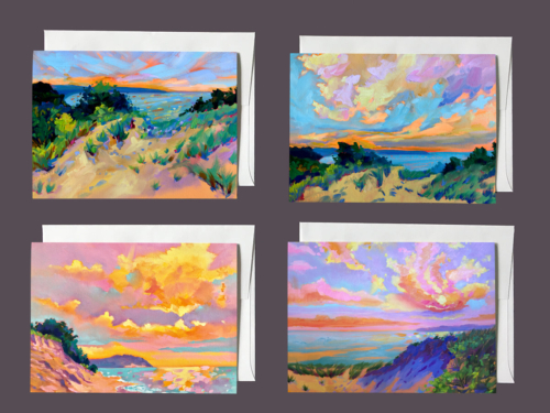 Sleeping Bear Dunes - Notecards by Stephanie Schlatter