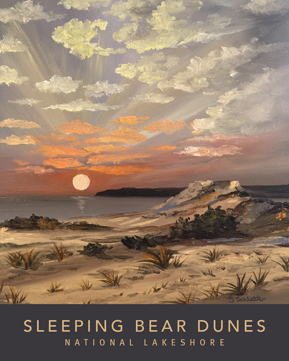 Sleeping Bear Dunes Poster 1