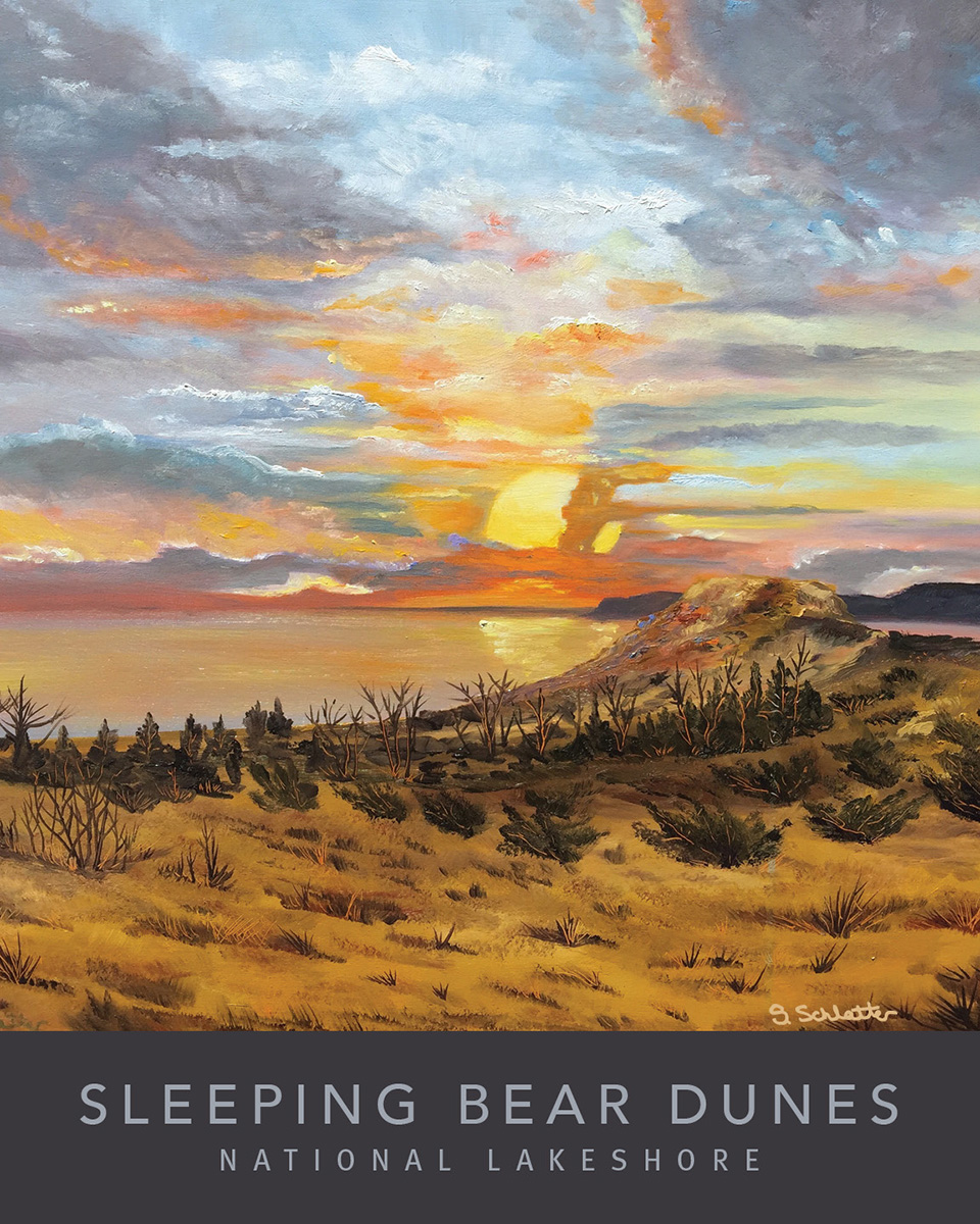 Sleeping Bear Dunes Poster 2