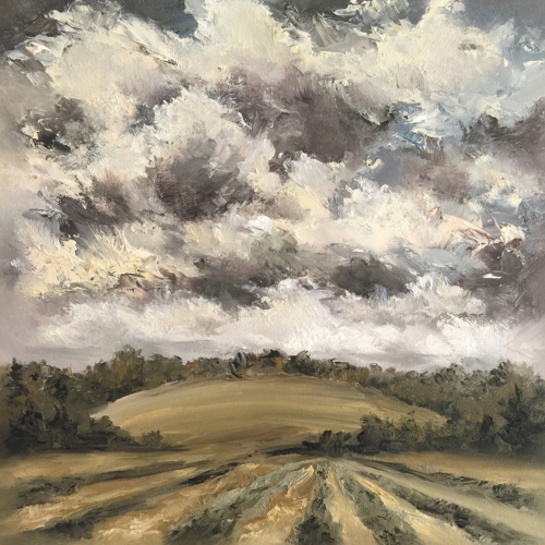 The Land Speaks - Painting by Stephanie Schlatter