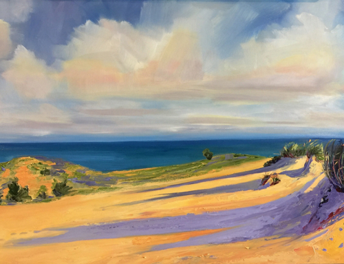 Bright Morning Light at Sleeping Bear Dunes