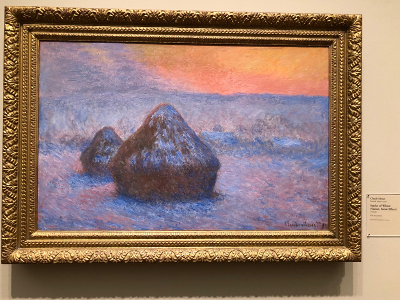 Hay Stacks by Monet