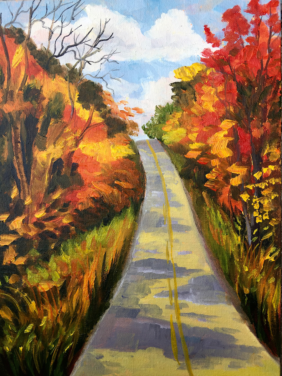 Shine on in Full Color - Painting by Stephanie Schlatter