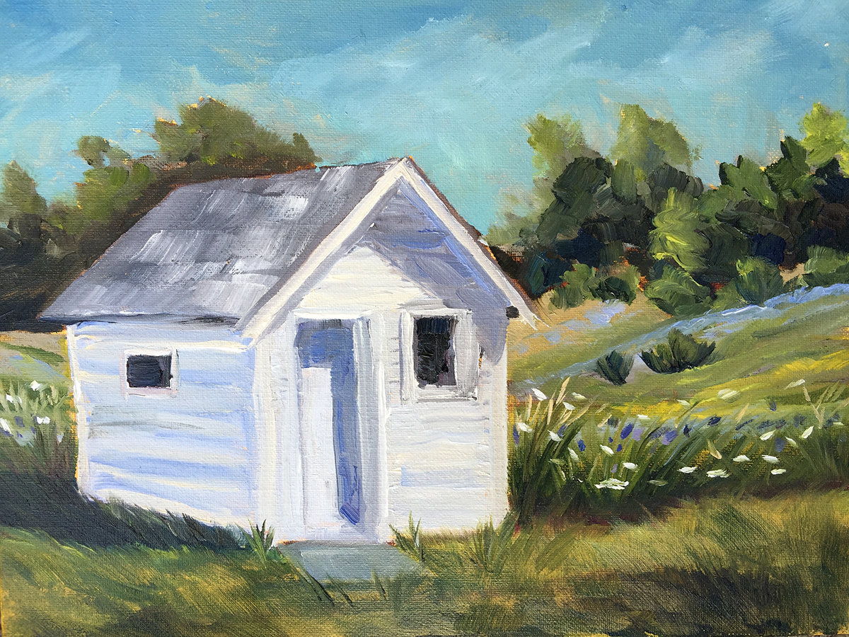 Still Standing - Painting by Stephanie Schlatter