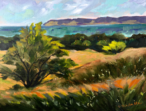 Such a View - Painting by Stephanie Schlatter