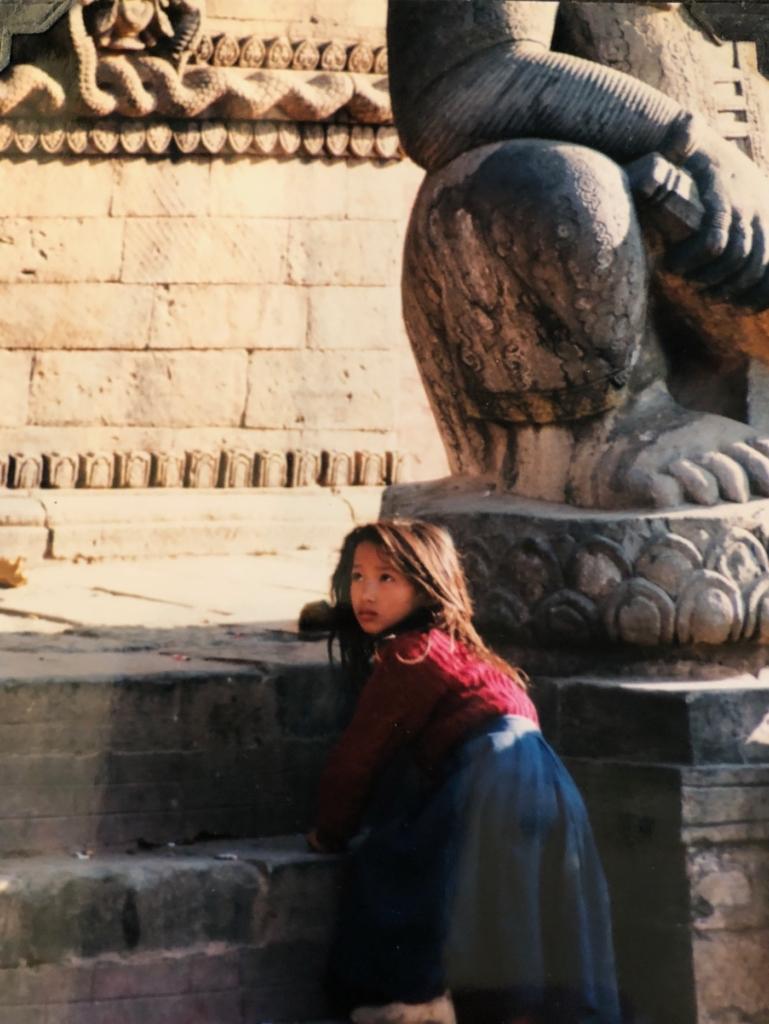 Girl in Nepal 1