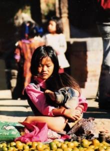 Girl in Nepal 2