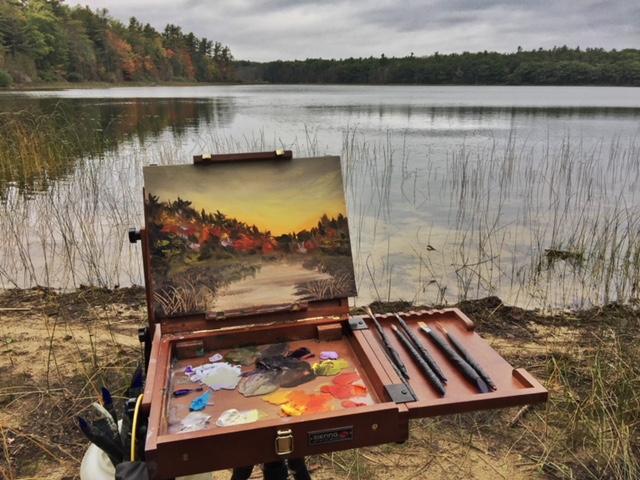 Fall at Kehl Lake Leelanau