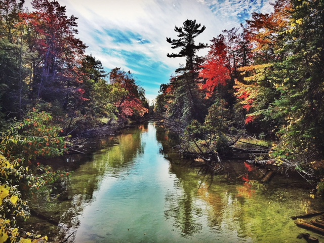 Fall on the Crystal River