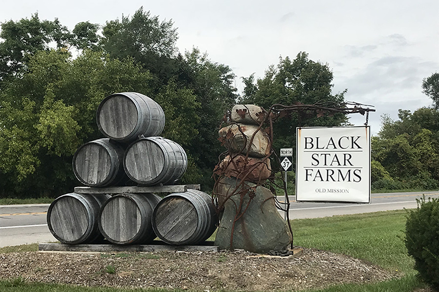 Black Star Farm Old Mission Winery