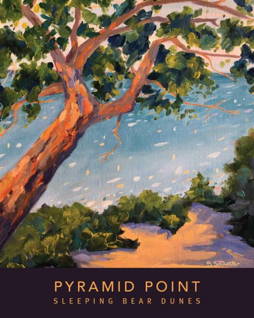 Pyramid Point Poster - Stephanie Schlatter