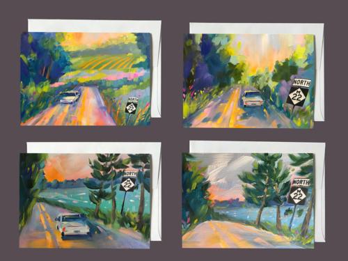 M22 Notecards Series 2 - Stephanie Schlatter Art