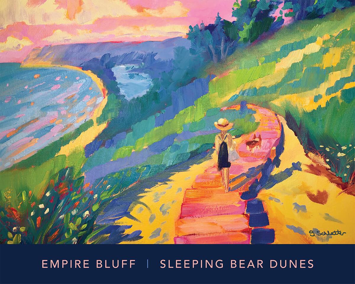 Empire Bluff Dreamin poster - Stephanie Schlatter Art
