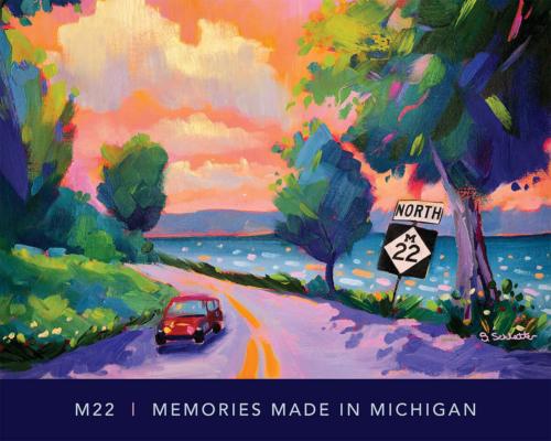 M22 Memories Made in Michigan - Stephanie Schlatter Art