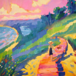 Empire Bluff Dreamin painting by Stephanie Schlatter