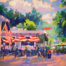 Glen Arbor Destination painting by Stephanie Schlatter