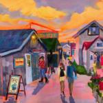 Fishtown Forever - Painting by Stephanie Schlatter