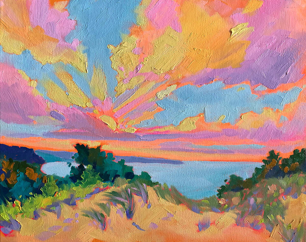 That Summer Feeling - Painting by Stephanie Schlatter