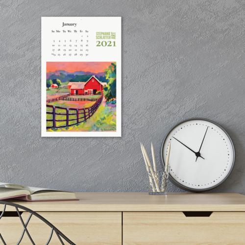 Schlatter 2021 wall calendar