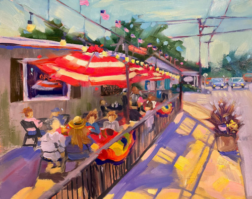 Glen Arbor Goodness painting by Stephanie Schlatter