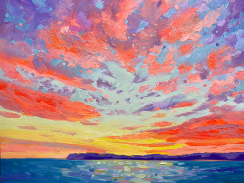 Summer Madness painting by Stephanie Schlatter