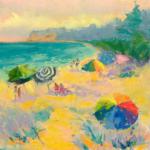 Watermelon Sugar painting by Stephanie Schlatter