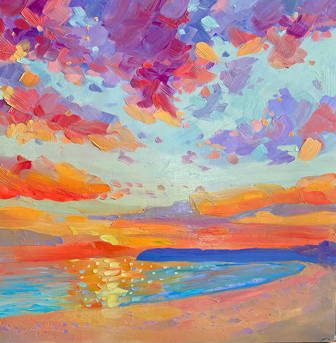 Bright Days painting by Stephanie Schlatter