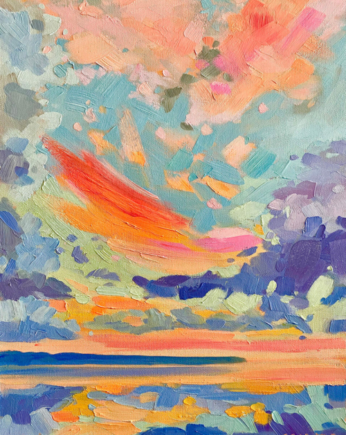 Feel Good painting by Stephanie Schlatter
