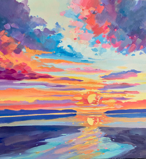Paradise to Me painting by Stephanie Schlatter