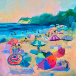 Summer Lounge painting by Stephanie Schlatter