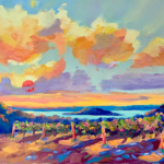 Sunset Lover painting by Stephanie Schlatter