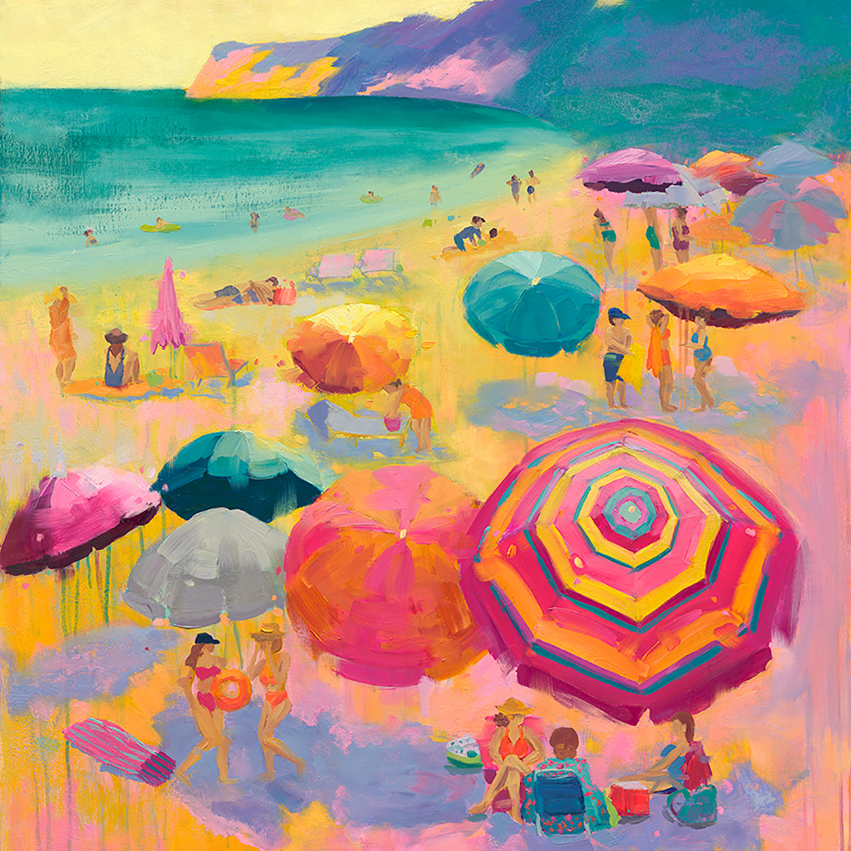 Cotton Candy Lemonade painting by Stephanie Schlatter