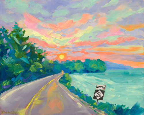 Let the Sun In painting by Stephanie Schlatter