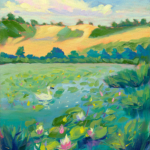 Suns Out painting by Stephanie Schlatter