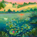 When the Sun Goes Down painting by Stephanie Schlatter