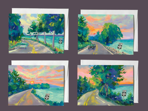 M22 Notecard Series 3 by Stephanie Schlatter Art