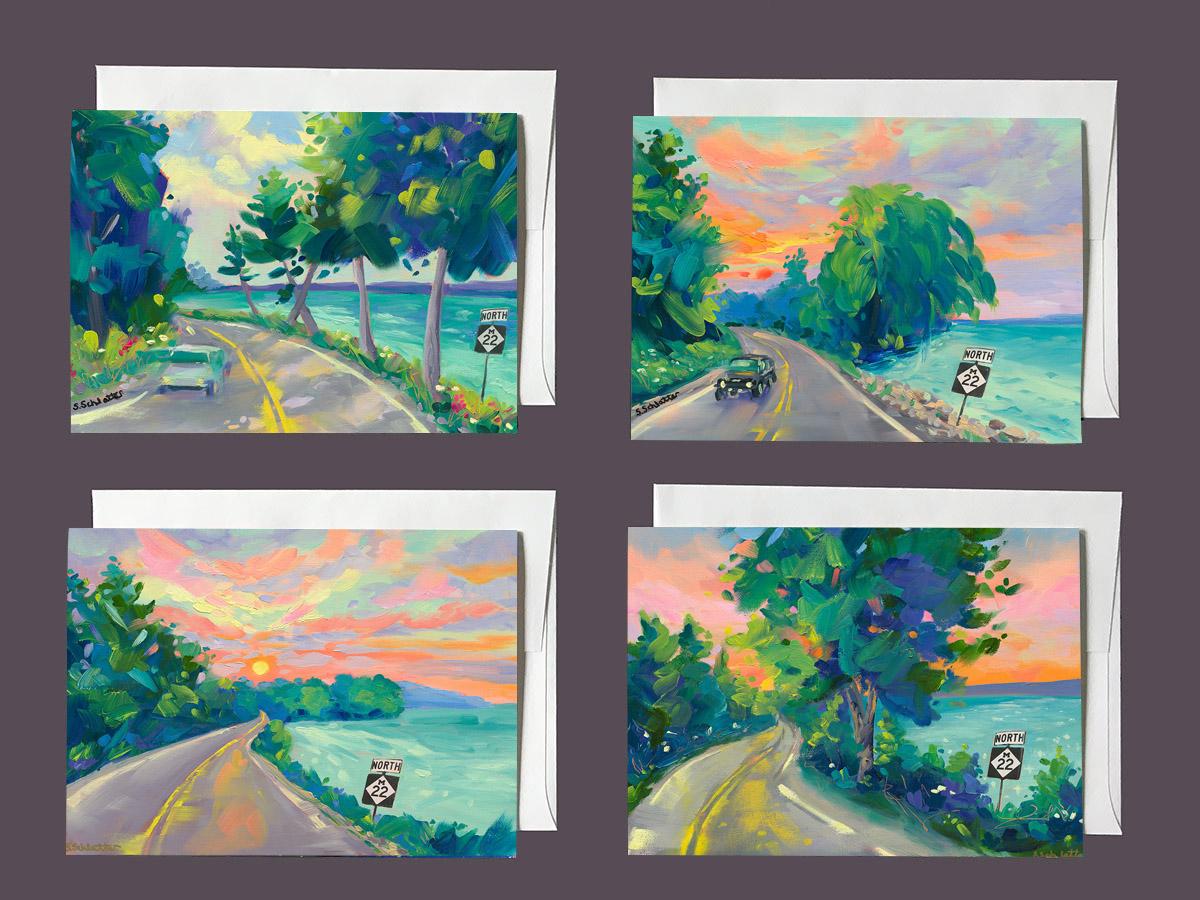 M22 Notecard Series 3 by Stephanie Schlatter Art