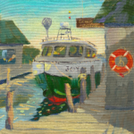 Fishtown Interlude painting by Stephanie Schlatter