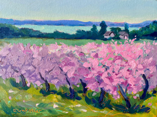 Feels Like Spring painting by Stephanie Schlatter