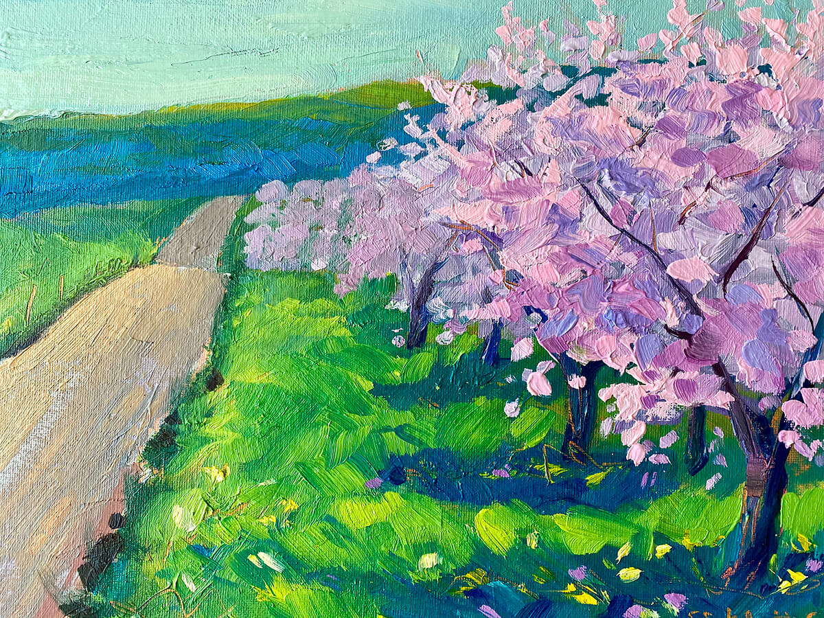 Spring Anthems painting by Stephanie Schlatter