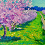 Spring Feels painting by Stephanie Schlatter