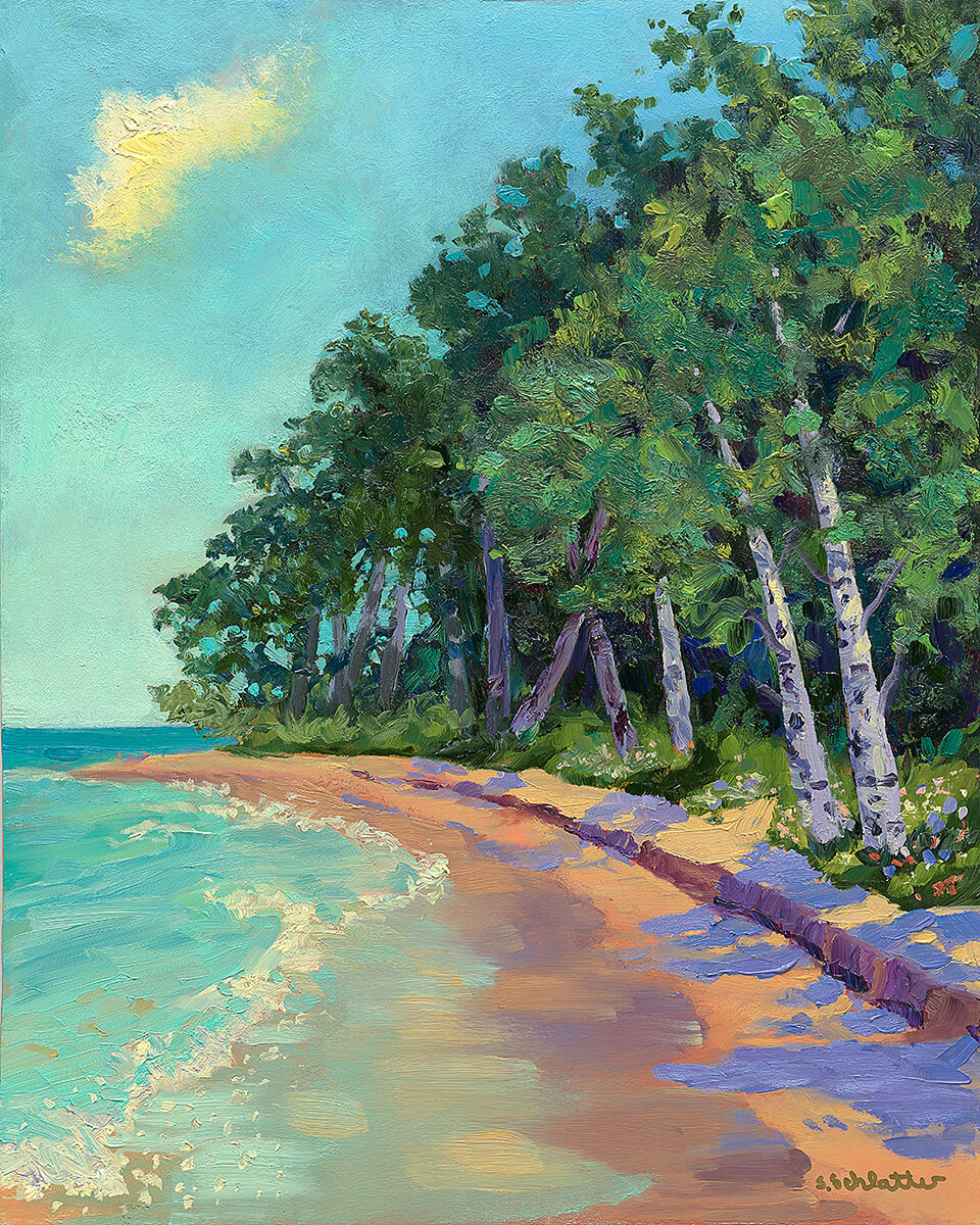 All Summer Long painting by Stephanie Schlatter