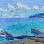 I Was On A Boat That Day painting by Stephanie Schlatter